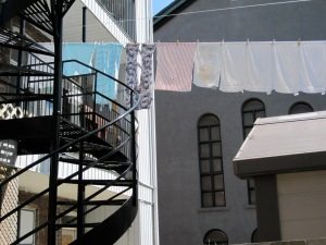 Montreal clothesline, 2009