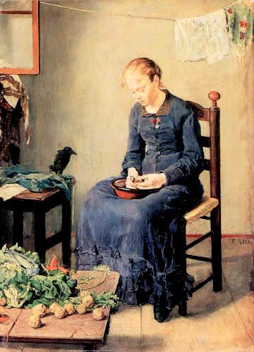 Woman_Peeling_Potatos,_or_Potato_Peeler._1886